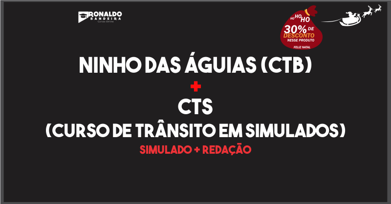 NINHO DAS ÁGUIAS + CTS (TRÂNSITO EM SIMULADOS)