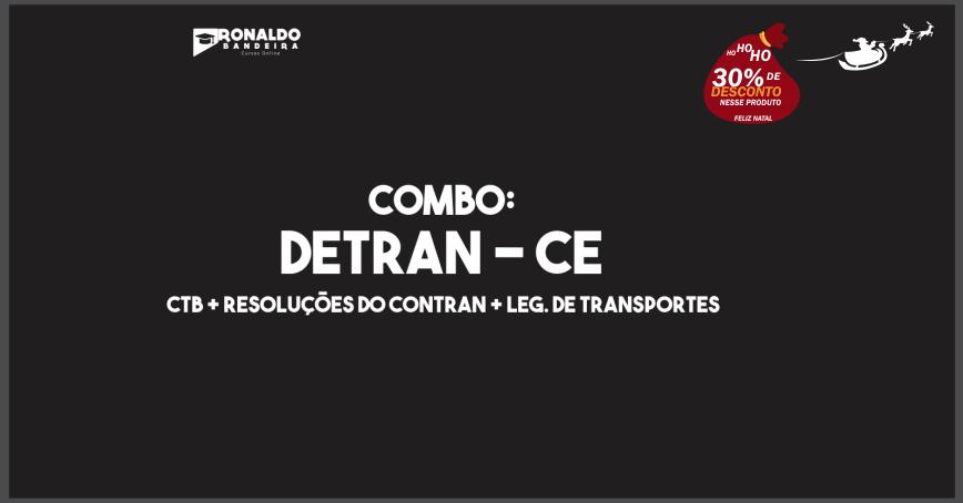 COMBO: DETRAN/CE